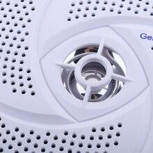 Белый 6,5 дюймов Водонепроницаемый морской Лодка аудио стерео колонки круглый флеш