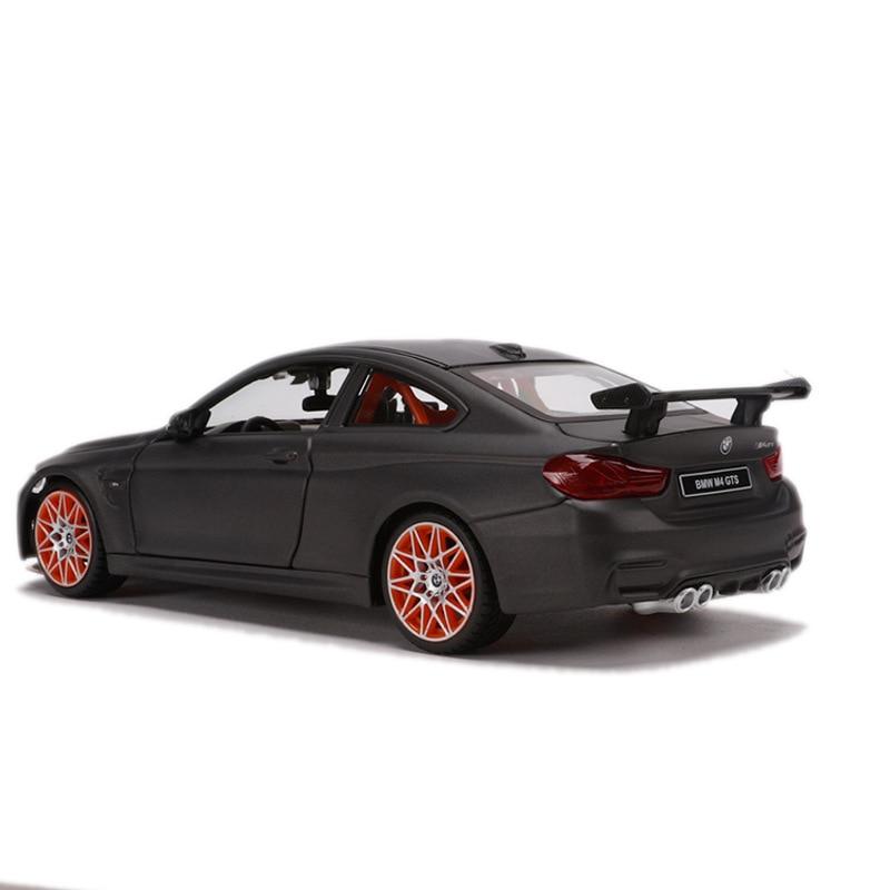 Maisto 1: 24 M4 GTS Spoiler Version Model Alloy Car Model Toy Gift