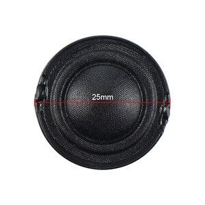 Image 2 - GHXAMP 25MM Tweeter Speaker Small Treble unit silk film membrane 8OHM 5W
