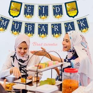 Image 4 - عيد مبارك بالونات حروف وأرقام لزينة حفلات إسلامية إسلامية عيد الفرت ديكورات رمضان رمضان مبارك مستلزمات حفلات