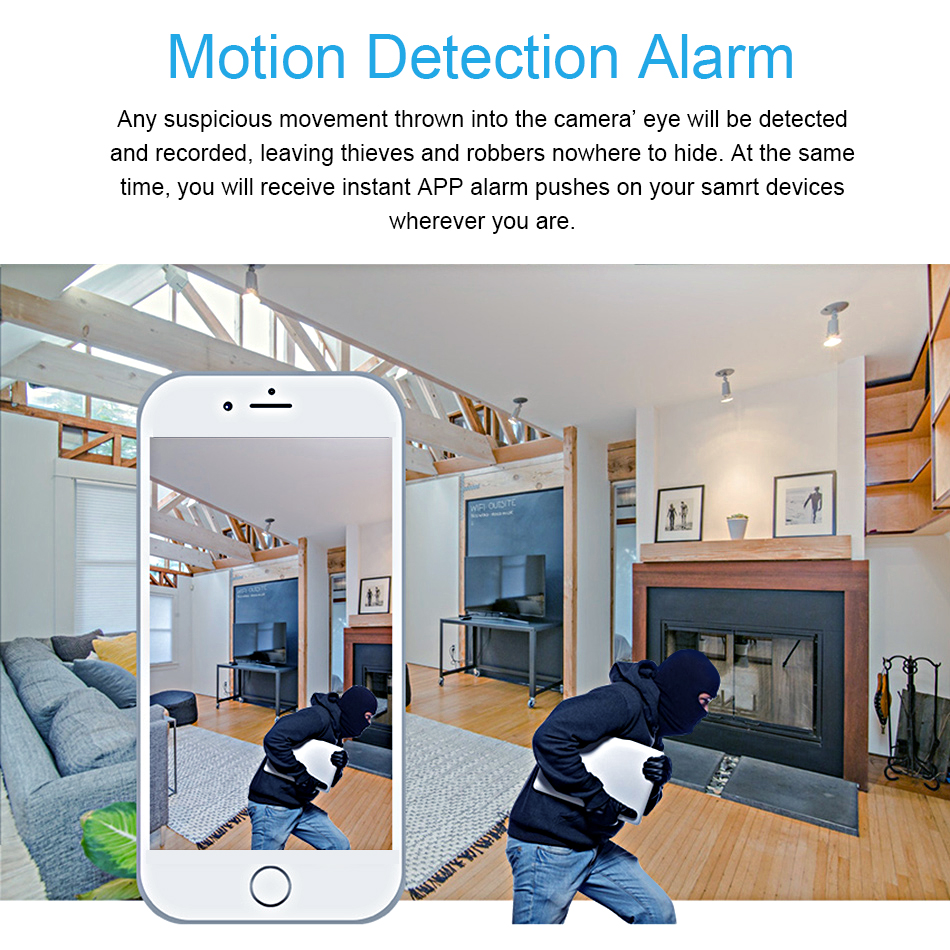 Smar HD 1080P Cloud Wireless IP Camera Intelligent Auto Tracking Of Human Home Security Surveillance CCTV Network Wifi Camera (4)