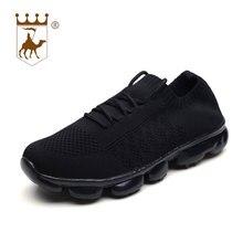 BACKCAMEL 2018 Spring Autumn Weaving Men Casual Shoes Breathable Fashion Korean Trend Wild Soft Flat Footwear
