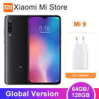 Global Version Xiaomi Mi 9 Mi9 6GB/64GB 6GB/128GB Mobile Phone Snapdragon 855 Octa Core 6.39