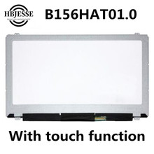 Matrix Display Inspiron Digitizer Lcd-Screen Laptop B156HAT01.0 Dell Touch for 7000-series/15-7547/7548/..