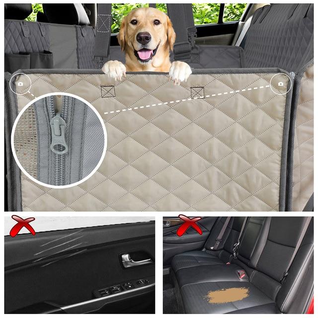 Гамак Prodigen, водонепроницаемый защитный матрас на багажник автомобиля для собак и домашних животных, чехол для на автомобильное сиденье для перевозки собак 5