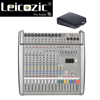 Leicozic CMS1000-3 Professional Mixing Console Audio Mixer Mixers 48V phantom DJ Mixing Console Plastic cover  DSP Effects