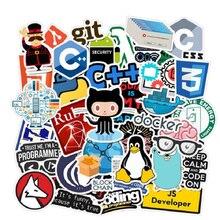50 PCS Programming Language Stickers Internet Html Software Waterproof Sticker for Geek Developer to DIY Laptop Phone Sticker|Stickers| |  - AliExpress