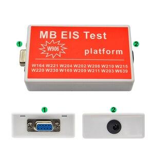 Image 5 - أحدث MB EIS اختبار ل جديد MB EIS W211 W164 W212 MB EIS اختبار منصة MB السيارات مفتاح مبرمج ل بنز شحن مجاني