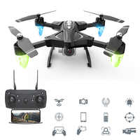 RC Drones With Camera HD 480P 1080P Folding Aerial RC Helicopter Long-Range Wifi Four-Axis Aircraft 0.3MP 5MP Quadcopter Toys