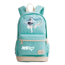 Music Hatsune Miku Printing Backpack Kawaii Women Shoulder Bags Miku Mochila Feminina Canvas School Bags for Teenage Girls