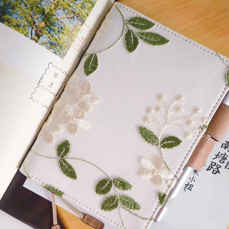 2020 New Spring Version Hydrangeas Theme Floral Journal Cover A5 A6