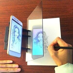 Креативная детская доска для рисования, Портативная оптическая доска для отслеживания, панель для копирования, Детская оптическая доска дл...