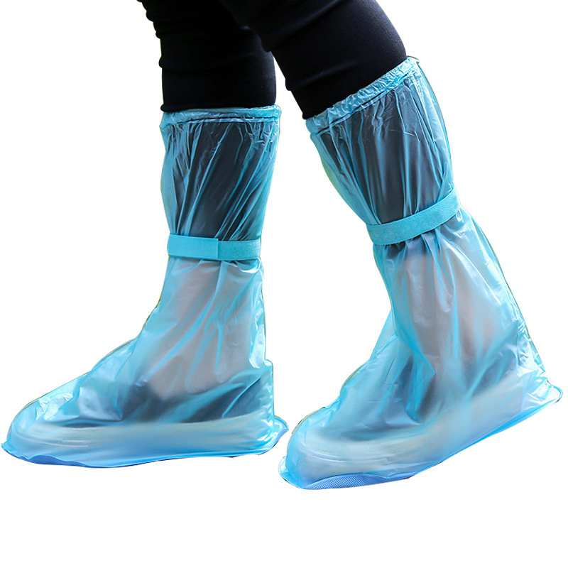 Waterproof Silicone Shoe Cover 1 Pair Of Reusable Shoe Covers Riding Waterproof Silicone Shoe Protector ForIndoor And Out