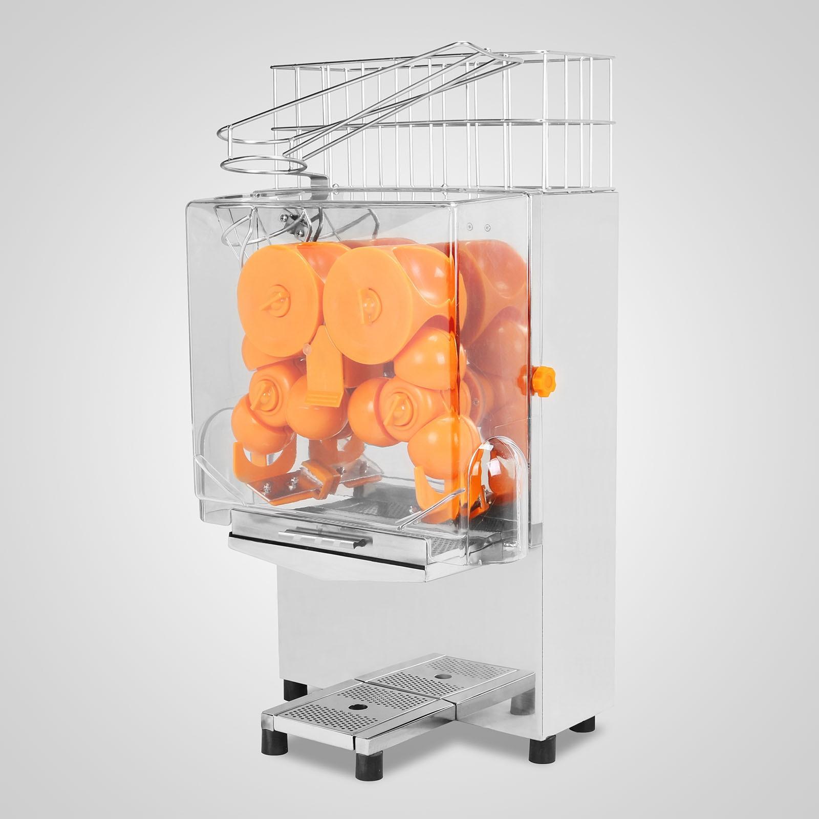 Автоматическая соковыжималка для апельсинов из нержавеющей стали 3
