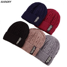 Brand Winter Hats For Men Men Winter Knitted Wool Hat Skullies Beanies Women Gorras Bonnet Male Beanie Cap Hat