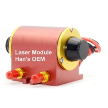 HANS OEM Laser Module Yag Laser Diode DP Laser 50W 75W  for Laser Marking Cutting Cutter Machine 270 125 8mm yag laser krypton gas lamps for laser marking machine using