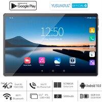2021 vendite 6G Ram 10 pollici Tablet pc 3G 4G LTE 1280*800 HD Android 10.0 Pie OS 8 Core doppia fotocamera