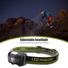 Adjustable LED Headlamp Classic Colors and Simple Durable Design 3 Modes Waterproof Headlight for Outdoor Camping Fishing(China)