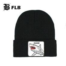 цена на [FLB] New Animal Beanie Hat Women Winter Warm Knitting Hats for Men Hip hop Caps Skullies Cap Bonnet Hat