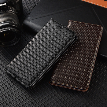 Business Genuine Leather Flip Case For Huawei Y5 Y6 Y6S Y7 Y9 Y9S Y5P Y6P Y7P Y8P Prime 2017 2018 2019 2020 Phone Cover Cases