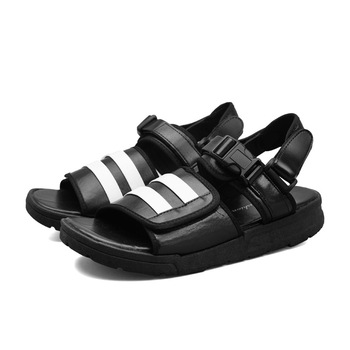 Unisex Patent Leather Sandals