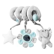 1pc Funny Doll Crib Hanging Toy Educational Toddler Bed Crib Plaything Kids Gift