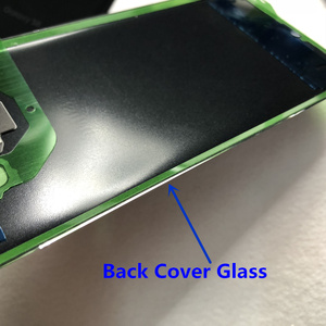 Image 5 - For Samsung Galaxy S8 Plus S8+ G950 G955 100% Original Battery Back Cover Glass Door Housing Rear Camera Glass S8 Rear cover