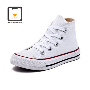 Image 5 - Kids Cavans Shoes for Girls Boys Children Sneakers Boots White Black Orange Pink Green Red Blue