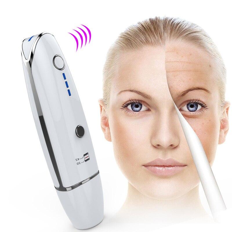 Домашнее использование мини Hifu ультразвуковая RF линия для лифтинга лица и удаления морщин v образный терапевтический массажер для подтяжки