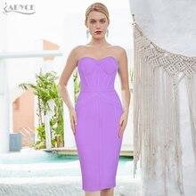 Adyce 2021 Новое летнее женское облегающее Бандажное платье