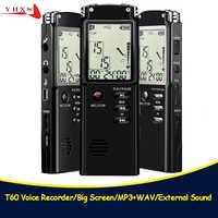 Tragbare 32GB Original Voice Recorder USB Professional 96 Stunden LCD Diktiergerät Digital Audio Voice Recorder mit WAV MP3 Player