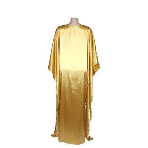 Image 5 - שמלות אפריקאיות נשים דאשיקי ארוך מקסי שמלת 2020 קיץ בתוספת גודל שמלת גבירותיי מסורתית בגדים אפריקאים פיות Dreess