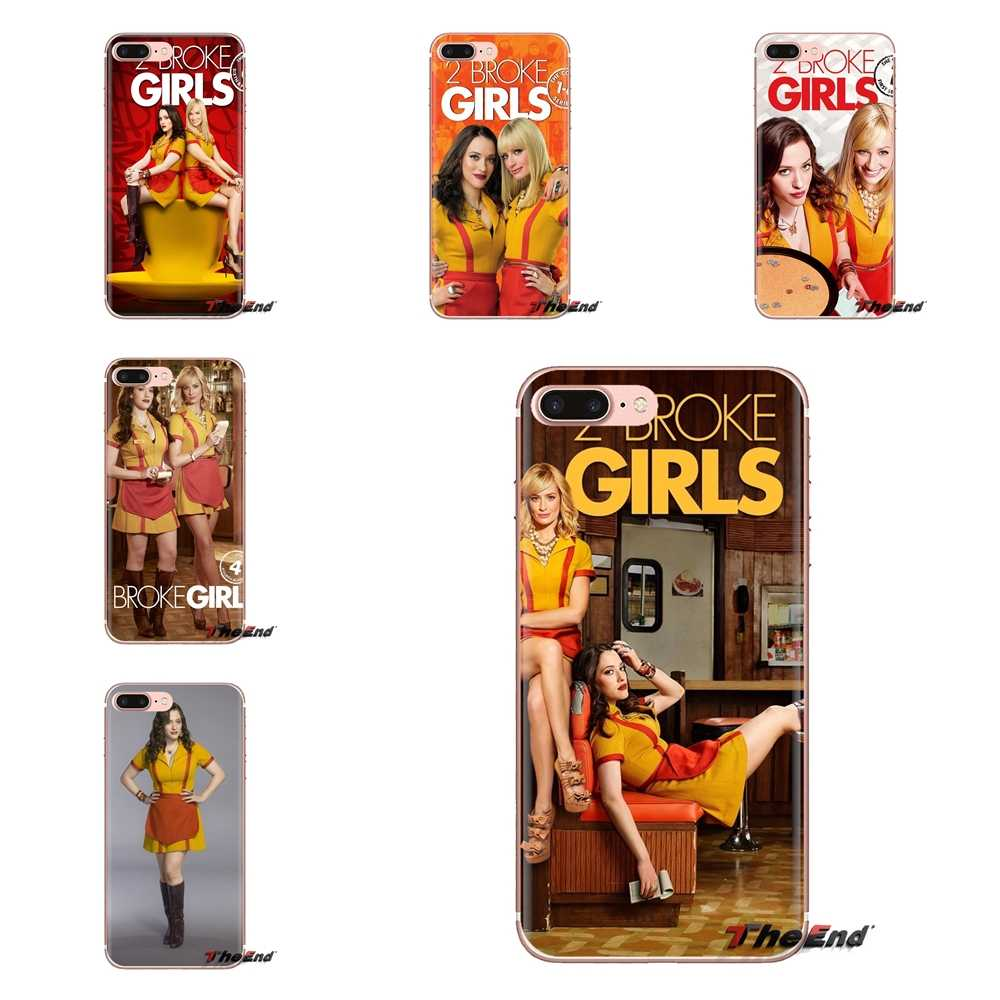 Soft Transparent Cases Covers 2 Broke Girls Season For iPod Touch Apple iPhone 4 4S 5 5S SE 5C 6 6S 7 8 X XR XS Plus MAX