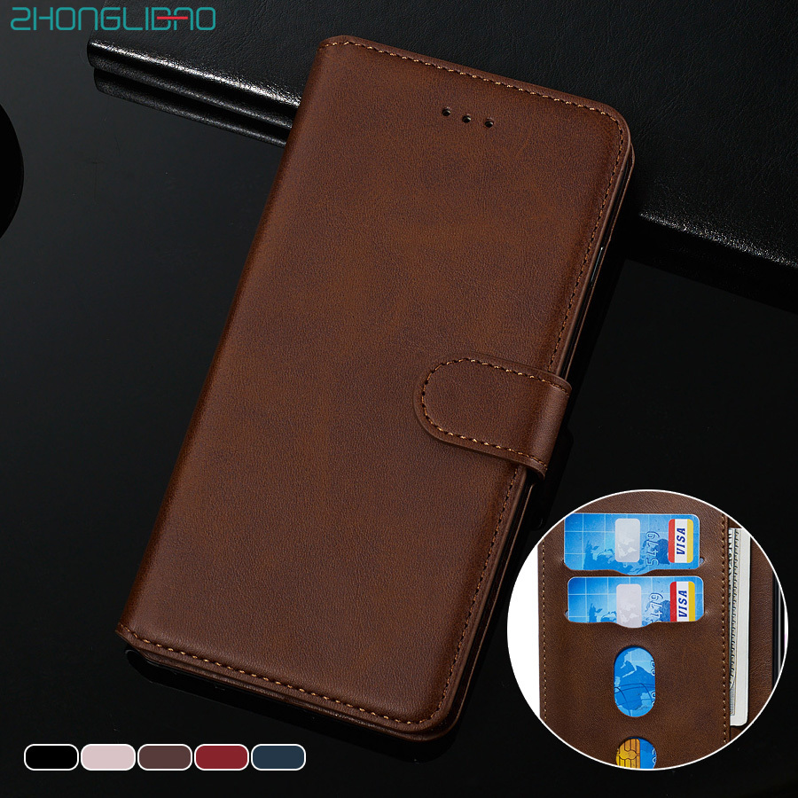 Leather Flip Case for Xiaomi Mi 9 Cc9 9t Pro A3 A2 Lite Redmi K20 8 8A 7a Phone Case for Redmi Note 8 8T 7 6 5 Pro Wallet Cover image