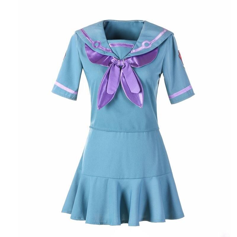 JoJo's Bizarre Adventure Yamagishi Yukako Halloween Cosplay Costume Top+skirt Custom Any Size