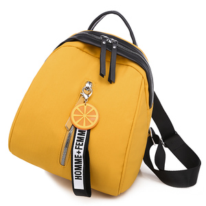 Image 3 - Toposhine Small Oxford Women Backpack Soft Quality Yellow Black Backpack Korea Multi function Shopping Girl Backpack For Lady