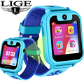 LIGE Детские умные часы детские часы LBS позиционный трекер аварийный телефон звонок девочка мальчик дети Смарт часы Поддержка SIM карты