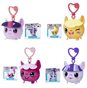 Hasbro мой маленький брелок для ключей с пони, плюшевая кукла, сумка, подвесные плюшевые игрушки милый брелок для ключей, Твайлайт, радуга, тире,...