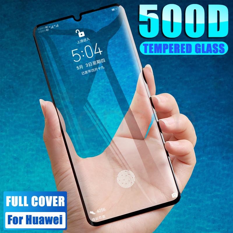 500D Protective Glass For Huawei P30 Pro Lite Huawei Nova 6 SE 5 5i 5T Nova 4 4E 3 3i 3E Tempered Screen Protector Glass Film