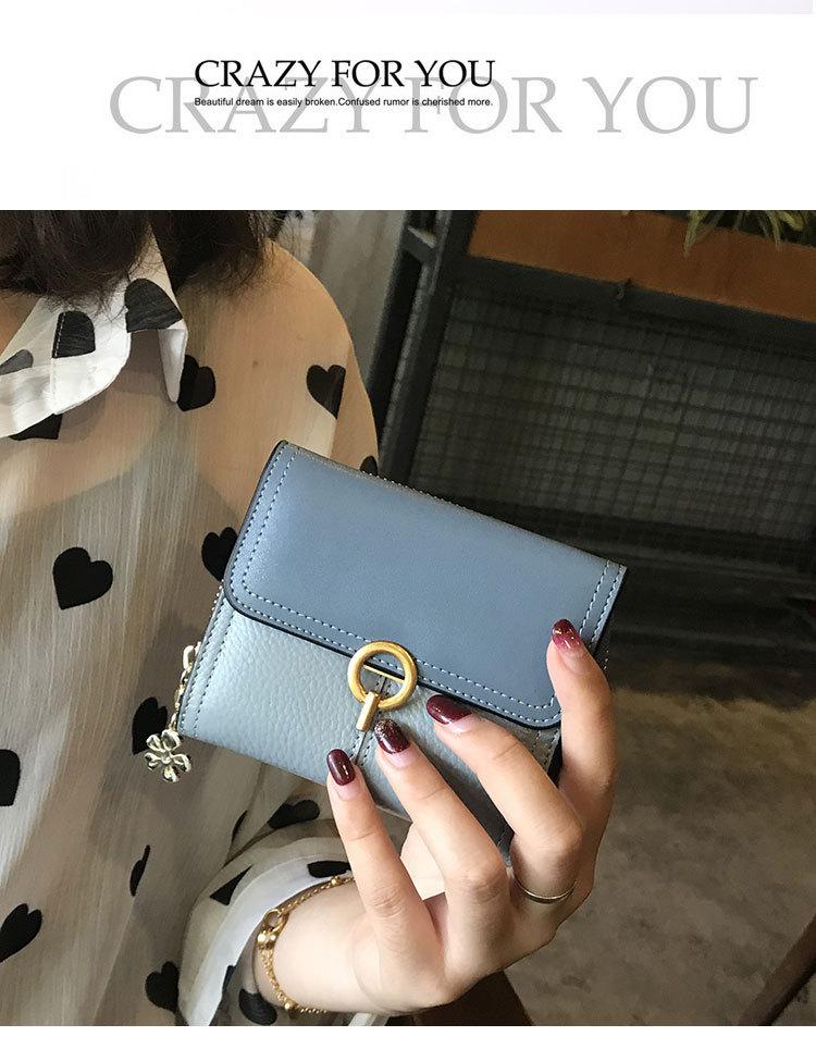 ferrolho titular do cartão de moda bolsa