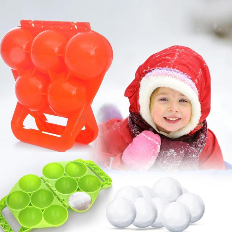 1PC Winter Snowball Maker Sand Mold Tool Snow Ball Maker Funny Compact Snowballs Fight Outdoor Sport Snow-balls Toy