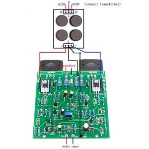 Image 5 - SUQIYA Hi Fi UK NAIM NAP180 75 واط + 75 واط مكبر كهربائي عدة قنوات مزدوجة لوحة الانتهاء جديد Sanken 2922