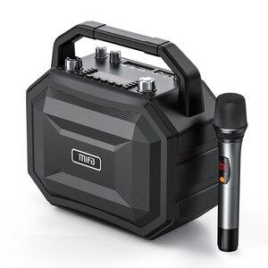 Mifa беспроводной микрофон мобильный беспроводной караоке динамик Bluetooth динамик с беспроводной стерео домашние вечерние динамик 100 Вт