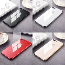 Luxury Plating Tempered Glass Phone Case Cover For Apple iPhone 11 Pro X XS XR Max 8 7 6s 6 s Plus 7plus 8plus 6plus Coque Funda