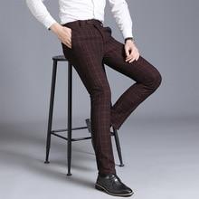 2021 Men's Straight-Leg Pants Youth Business Suit Pants