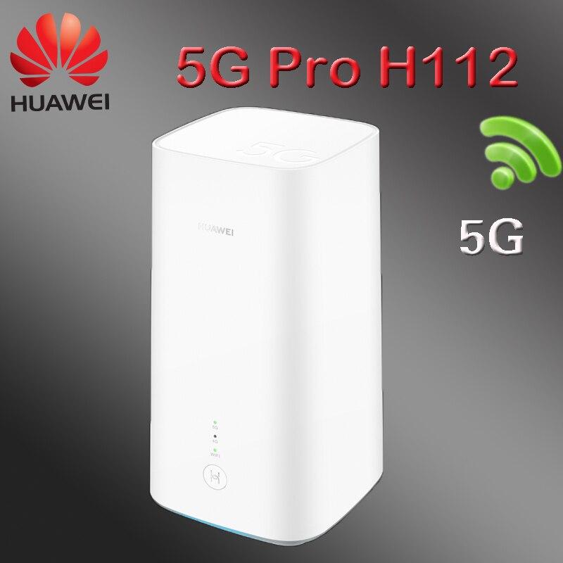Huawei 5G CPE Pro H112 H112-372 5g router wi-fi com slot para cartão sim roteador 5g 4g balong 5g Cubo CPE Roteador Sem Fio wi-fi móvel