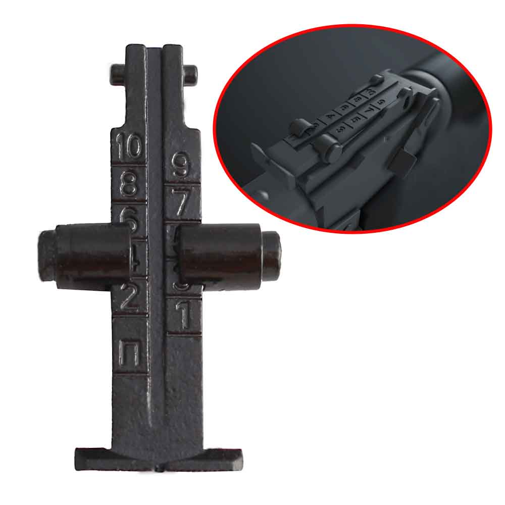 Tactical Complete 1000m Metal Rear Iron Sight Assembly For Hunting Airsfot AEG Gun AK47 AK74 AK Series Rifle Sight Scope