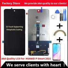 10-Touch Original LCD Für Huawei P Smart 2021 LCD Mit Rahmen LCD Bildschirm Für P Smart 2021/ehre X10 Lite LCD Display DNN-LX9