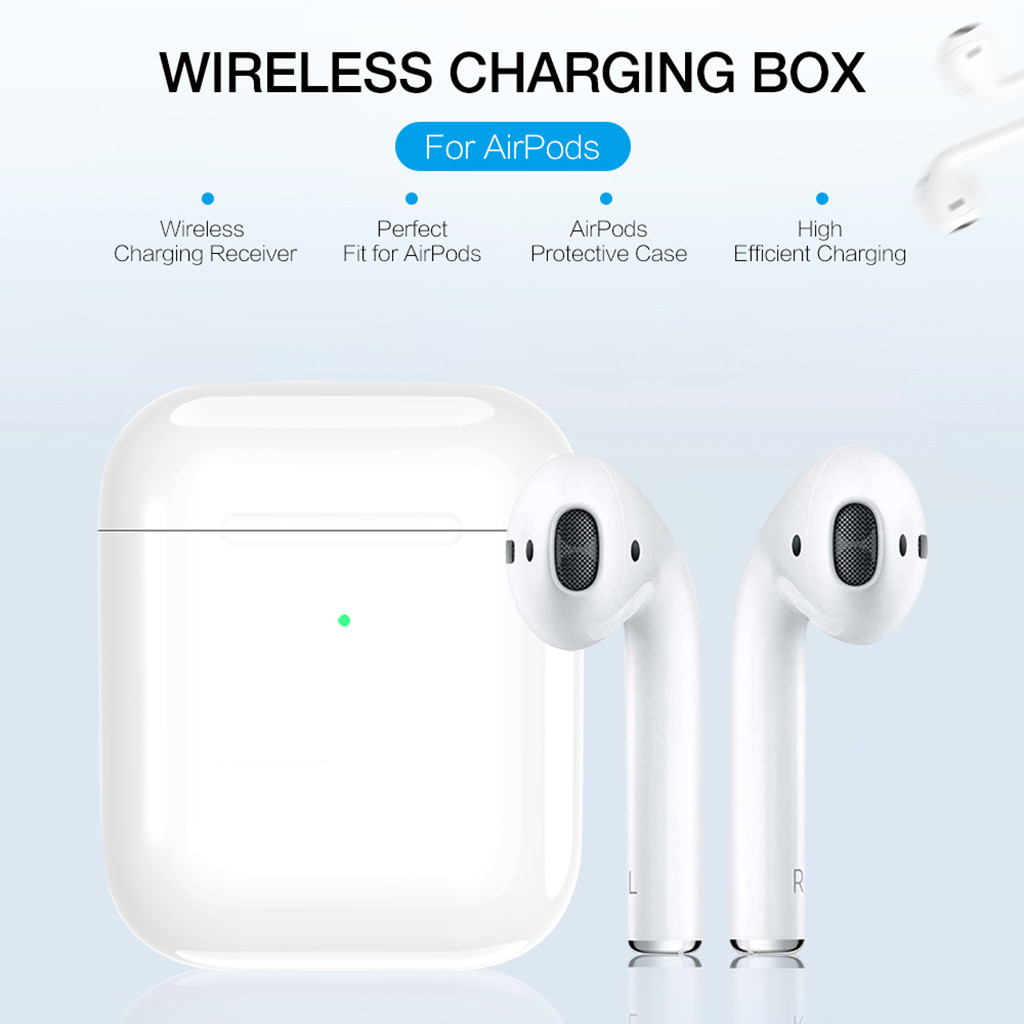 #Z25 Wireless Charging Box For Apple Airpods Bluetooth Earphone Charger House Perfect Match For Apple Headset Wireless Charger|Chargers| |  - title=