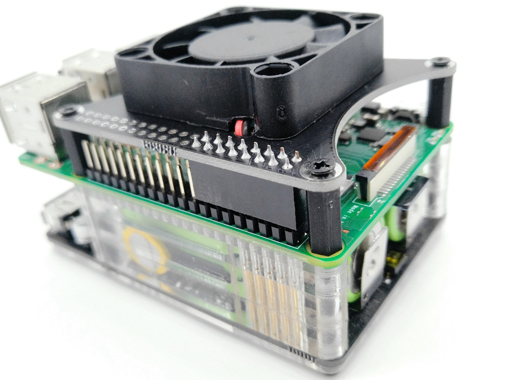 New Raspberry Pi 4 Model B 2G 4G 3400mAh 18650 UPS Power Extension Board Fan HAT For Raspberry Pi
